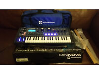 Novation MiniNova mint condition.