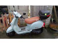 Neco lola 49cc moped
