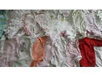 Baby girls bundle 0-3