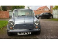 1984 classic Austin Mini 25th anniversay edition (RARE)