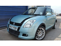 2008 SUZUKI SWIFT ATTITUDE 1.3 3DR LONG MOT NEW CLUTCH KIT LOW MILEAGE FSH