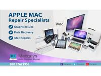 Apple Mac Repair Services, Graphic Issues & Data Recovery Experts.