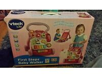 V tech first step walker