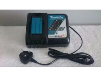 "MAKITA DC18RC 7.2v-18v li-ion lithium ion 22 MIN charger ""USED"""