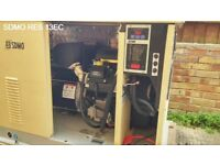 SDMO Single Phase Gas/LPG Generator RES 13 EC - PRICED TO SELL