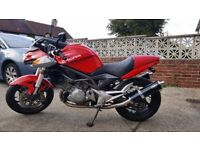 CAGIVA V RAPTOR IN EXCELLENT CONDITION SALE SWAP BUSA/HARLEY SPORTSTER/CUSTOM/RETRO,WHY?