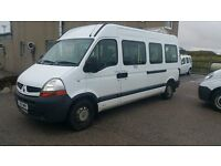 Renault Master minibus / ideal camper conversion /wheelchair access lift / new MOT/semi auto gearbox