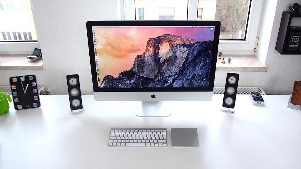 "iMac 27"" 5K, Latest version (late 2015) high specin Quedgeley, GloucestershireGumtree - iMac 5k in box 27"" screen perfect condition 3.3GHz quad core Intel Core i5, Turbo Boost up to 3.9GHz 16GB upgrade from 8GB Ram 2TB Fusion Drive AMD Radeon R9 M395 with 2GB video memory Magic Mouse 2 & Magic Keyboard Sad to see it go, sometime i may..."