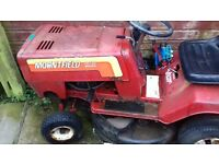 two ride on lawnmowers for parts or repair