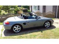 Porsche Boxster Convertible 2001 2.7ltr