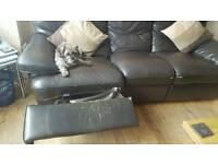 Free three seater reclining seatee