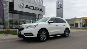 2015 Acura MDX Elite, Full Running Boards, Diamond cut rims, Na