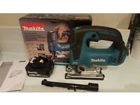 Makita 18v brushless jigsaw DJV182Z & 5.0ah battery