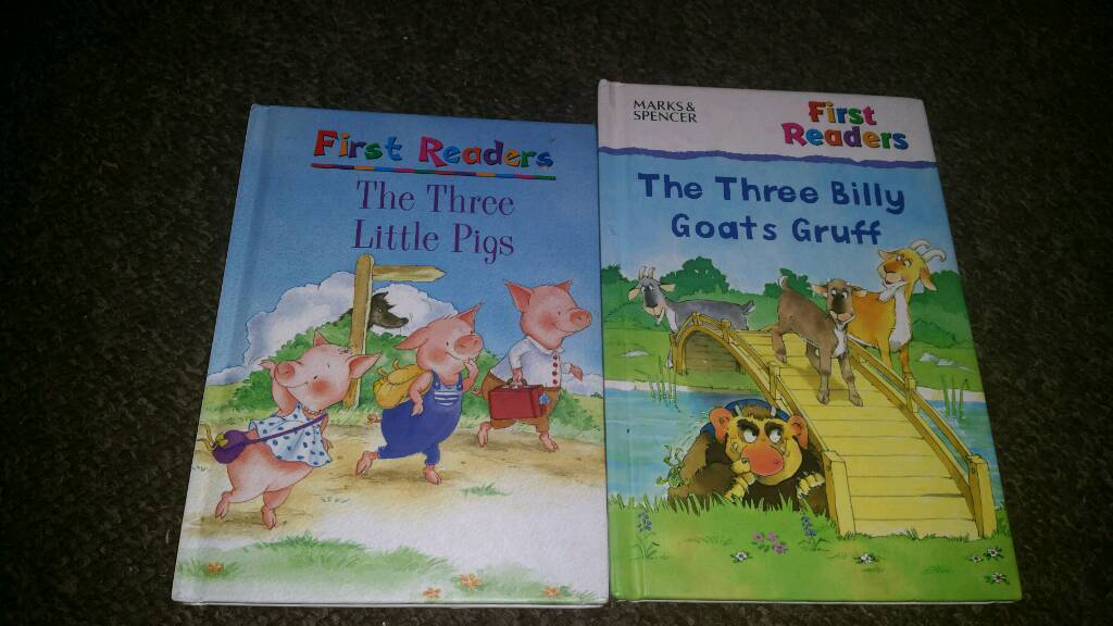 Books 50p each