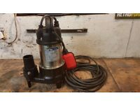 Clarke flood water pump. stainless steel heavy duty for builder, farm commercial or home.