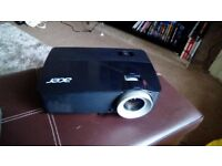 1080p Acer projector home cinema, 2 pairs of 3d glasses and hobbit in 3d.