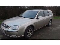 2005 FORD MONDEO 2.0 DIESEL ESTATE MOT 8/2017 PART EX WELCOME DELIVERY ANYWHERE IN UK