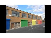 Secure Units / workshops / lock up to let / rent in West Yorkshire Halifax. £96 a week 1700 sq