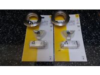 New 2 Diall Bulbs + Connector Kits MR16 GU5.3 40W Low Voltage + 5 New Long Life 50W Bulbs.