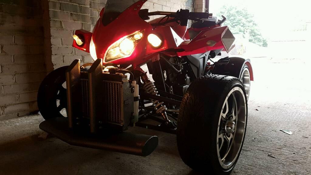 Super quad bike