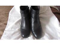 Tamaris black ankle boots