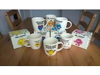 Mr Men and Little Miss mug collection