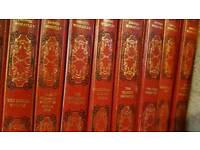 21 leather bound Dennis wheatley novels