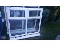 Used pvc double glazed window