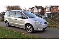 7 Seater ... 2008 Ford Galaxy 2.0 ... Diesel ... Automatic ... CHEAP .... PCO re-newable ... Galaxy