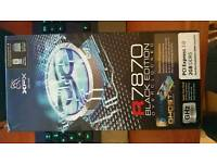 XFX 7870 dd black edition graphics card