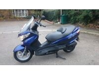 Suzuki UH125 Burgman just after service and new MOT