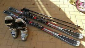 Ski Rossignol zenith 1 and ski boots atomic