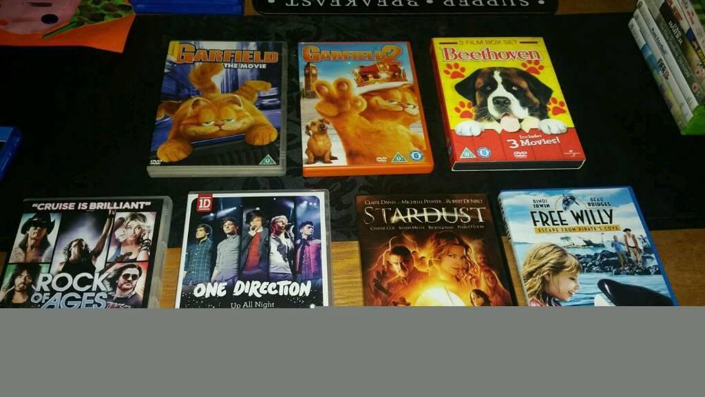 Blu-rays dvds