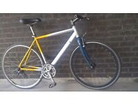 Custom Built Single Speed Road Bike Size 51CM in Perfect Order