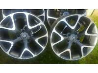 "18"" Vauxhall Insignia VXR style alloys"