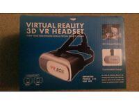 Virtual Reality 3d VR headset