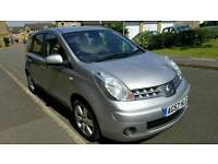 2008 NISSAN NOTE 1.6CC ..TEKNA..HALF LEATHERS....MOT..SERVICE HISTORY..GREAT RUNNER..HPI CLEAR..