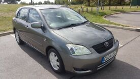 Low mileage Toyota Corolla for sale. In superior condition for a car of this age. Very recent MOT