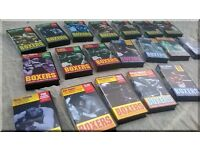 Collection Of 22 Boxing VHS Video Cassettes -VHS or for show