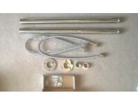 Laura Ashley free-standing chrome standpipes