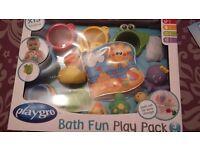 PLAYGRO BATH FUN PLAY PACK - NEW