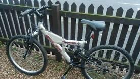 Solar Twister, Full Suspension, Mountain Bike.