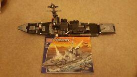 MegaBloks Navy Destroyer