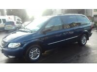 Chrysler Grand Voyager 2.5 CRD Limited Blue Manual Full Service History One owner 8 mths MOT