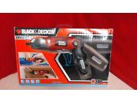 BLACK+DECKER Pivot Handle Lithium Screwdriver,