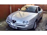 Alfa Romeo GTV 916 MOT end of september bec reg no. very good runner