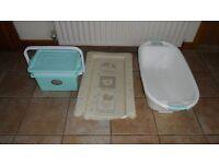 Baby bath/storage boxes