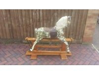 1960 Vintage Haddon Rocking Horse