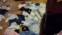 baby boy clothes sizes 0-3, 3-6, 9 months