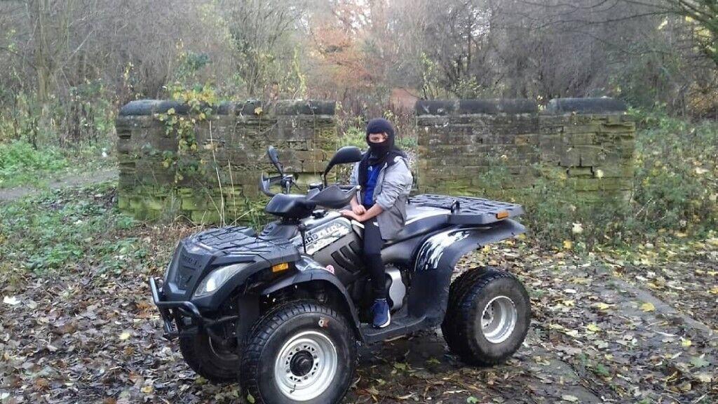 Linhai Quadzilla 300cc superquad 4x4 farm quad atv (will conisider swap for  car or van)   in Meanwood, West Yorkshire   Gumtree